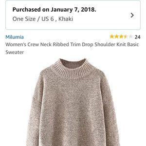 Sweaters - Milumia Sweater (Amazon)